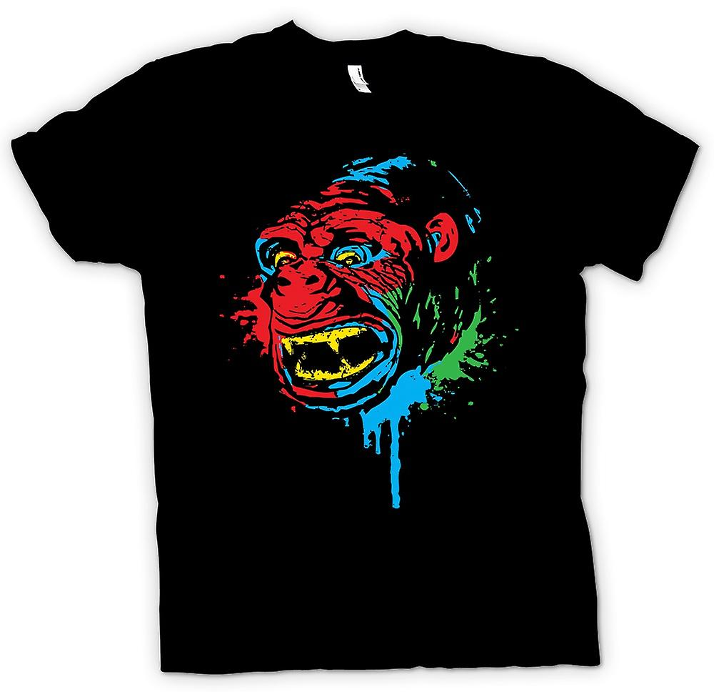 Womens T-shirt - Pop Art - Ape Gorilla - Cool Design