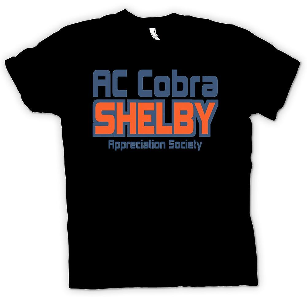 Womens T-shirt - AC Cobra Shelby Appreciation Society