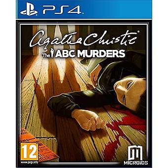 Agatha Christie ABC Murders (PS4)