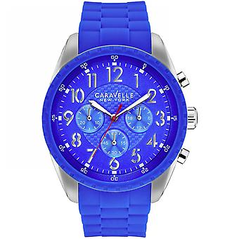 Caravelle New York Men's Bruce Chronograph Watch 43A121