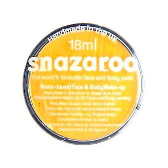 Snazaroo ansigt og krop maling - lys gul / vand baseret 18ml