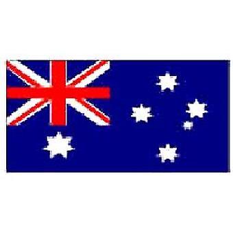 Australische Flagge 5 x 3 ft mit Ösen für hängende