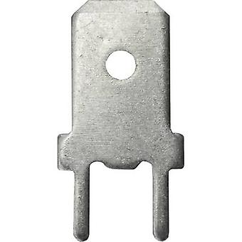 Vogt Verbindungstechnik 3866z.68 Blade connector Connector width: 6.3 mm 180 ° Not insulated Metal 1 pc(s)