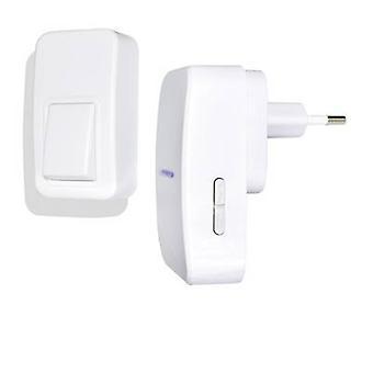 Wireless door bell Complete set Battery-free wireless doorbell ECO X4-LIFE 701393