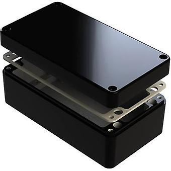 Deltron Gehäuse 487-261609E-68 Universal Gehäuse 260 x 160 x 90 Aluminium schwarz 1 PC