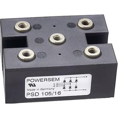 POWERSEM PSD 105-12 diodes pont Figure 15 1200 V 160 A 3 phases