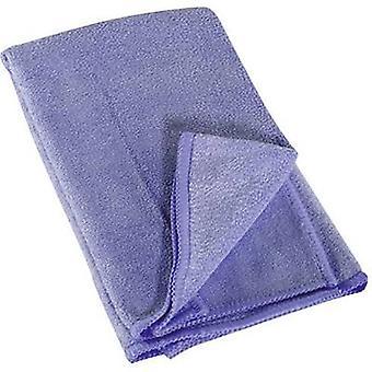 Microfibre cloth blue 009610 1 pc(s) (L x W) 400 mm x 400 mm