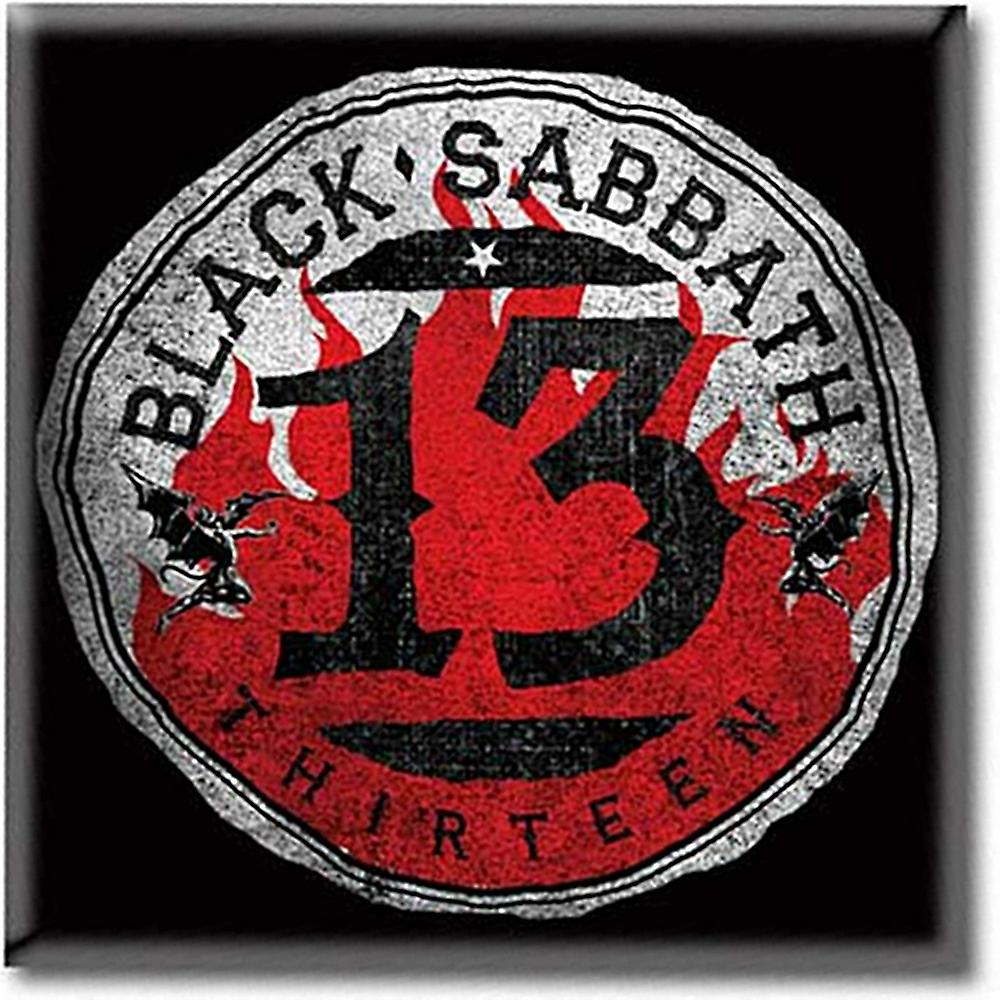 Black Sabbath 13 круг сталь Холодильник магнит