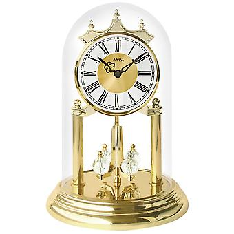 Year quartz quartz watch year clock with glass Bell table clock shelf clock mantel clock