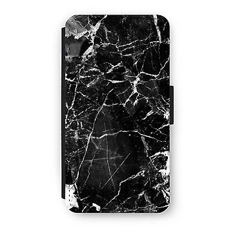 iPhone Custodia Flip XS - Black Marble 2