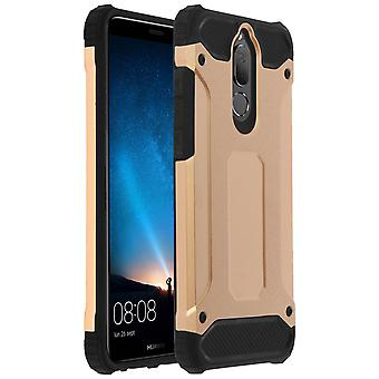 Defender II Series Protection Case Huawei Mate 10 Lite - Drop proof - Gold