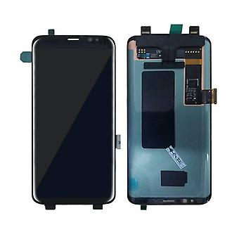 Stuff Certified ® Samsung Galaxy S8 Display (AMOLED + Touch Screen + Parts) A + Quality - Black