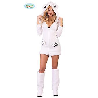 Polar bear costume for ladies Carnival animal costume