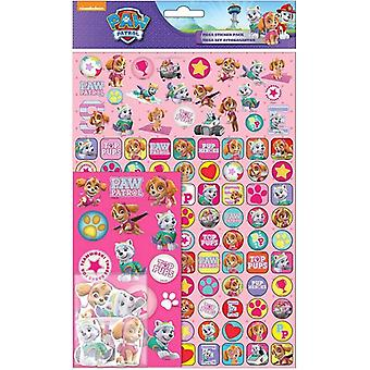 Paw Patrol Mega Stickers Pack 150pcs Fun Foiled stickers Pink