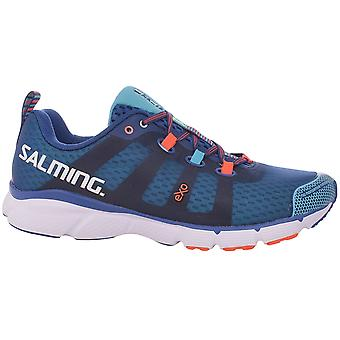 Salming Mens Enroute Running Outdoor Sports Shoes Trainers - Blue