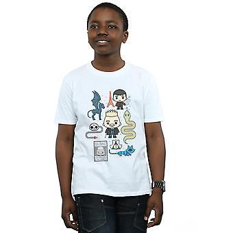 Phantastische Tierwesen 2 jungen Chibi Grindelwald T-Shirt