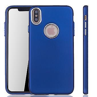 Del iPhone de Apple caso móvil Max XS - caja del teléfono celular de Apple iPhone Max XS - en azul oscuro
