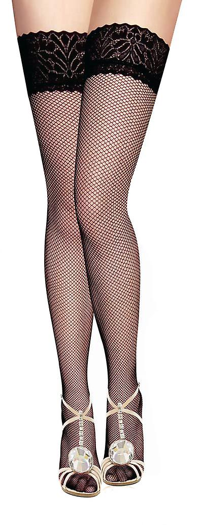 Waooh - Lingerie - Bas nylon with mesh and lace