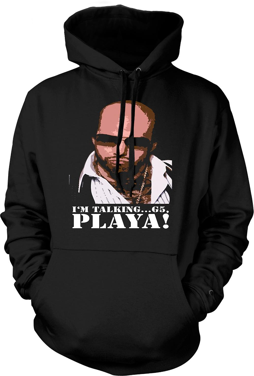 Mens Hoodie - Tropic Thunder Playa - Grossman - Funny