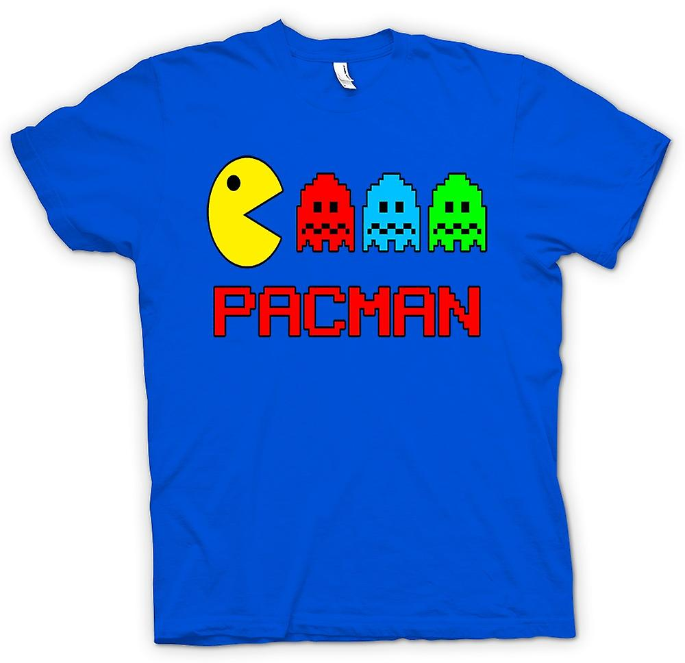 Hommes T-shirt - Pacman - Rétro - Old School Gamer