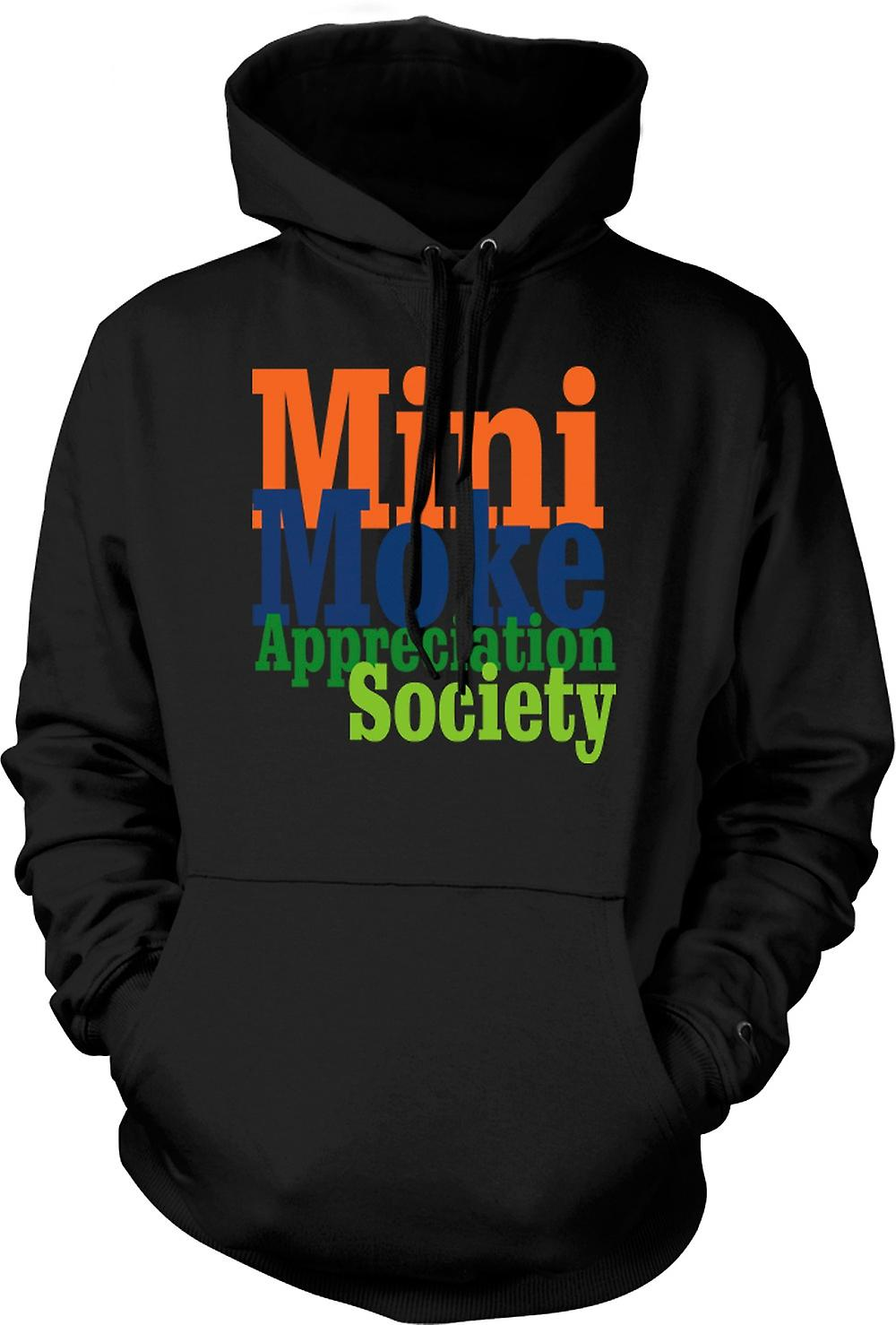 Mens Hoodie - Mini Moke Appreciation Society