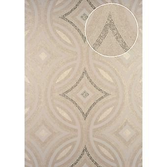Non-woven wallpaper ATLAS HER-5135-4