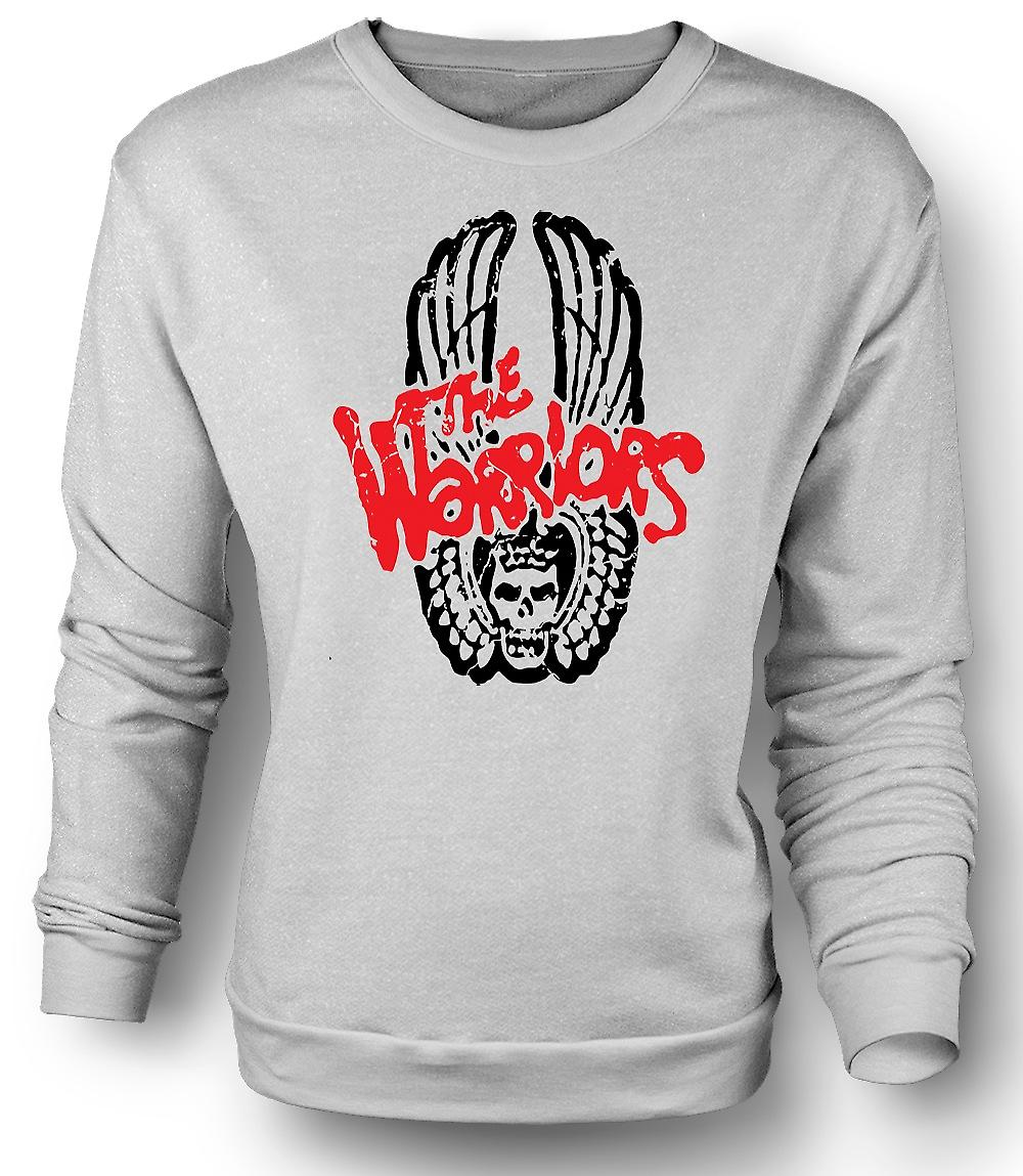 Mens Sweatshirt The Warriors - Logo - Cult Movie