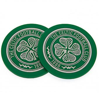 Celtic FC Coaster Set (Pack Of 2)