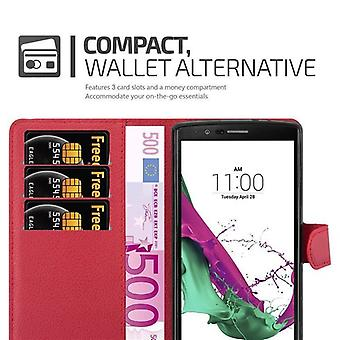 Cadorabo case for LG G4 / G4 PLUS - mobile case with card holder and stand function - case cover sleeve pouch bag book Klapp style