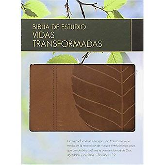 Biblia de Estudio Vidas Transformadas-Rvr 1960