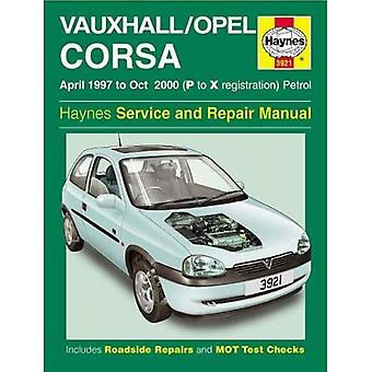 Vauxhall / Opel Corsa Service and Repair Manual (Haynes Service and Repair Manuals)