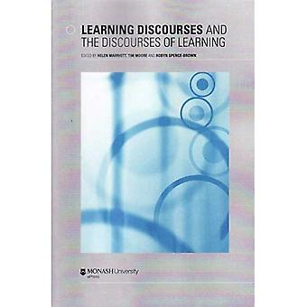 Learning Discourses & the Discourses of Learning