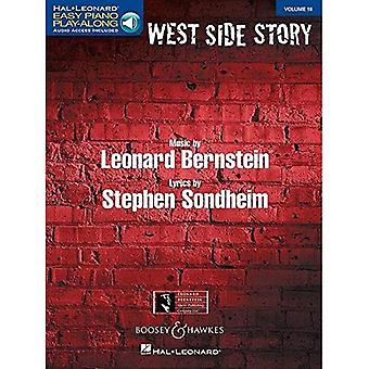 West Side Story: Easy Piano Play-Along Volume 18 (Hal Leonard Easy Piano Play-Along)