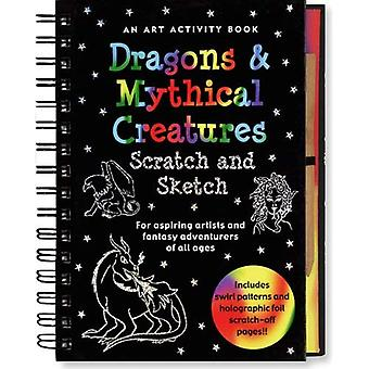 Dragons & Mythical Creatures Scratch and Sketch: An Art Activity Book for Fantasy Adventurers of All Ages