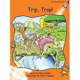 Trip, Trap! (Red Rocket Readers)