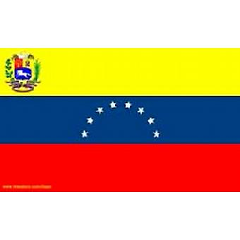 Venezuela Flag 5ft x 3ft With Eyelets