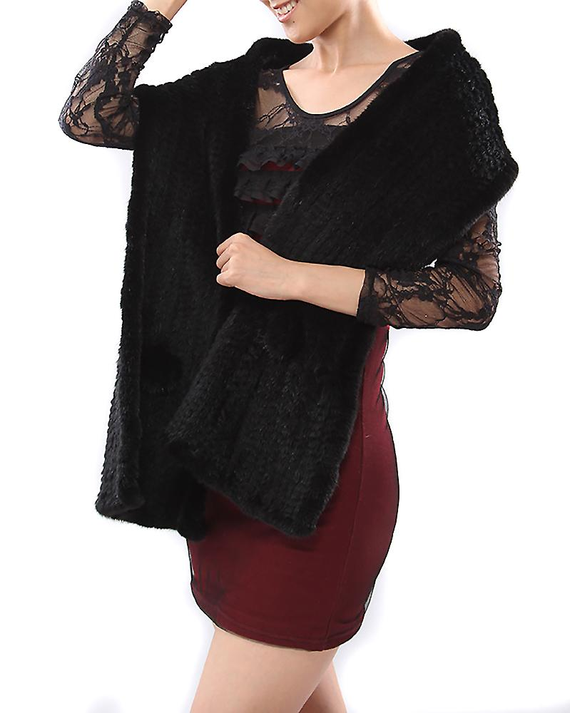 Waooh - Large mink scarf Yrila