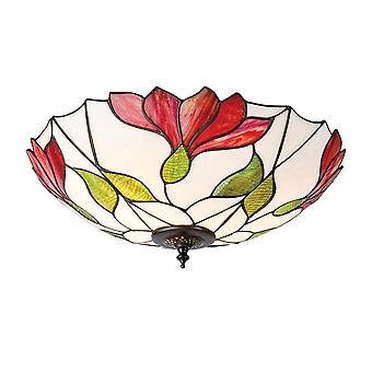Botanica store Tiffany to lys Flush Ceiling Fixture - interiør 1900 63960