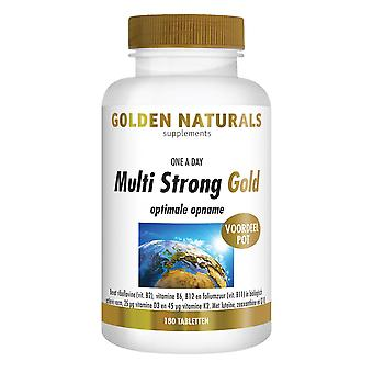 Golden Naturals Multi Strong Gold (180 tablets)