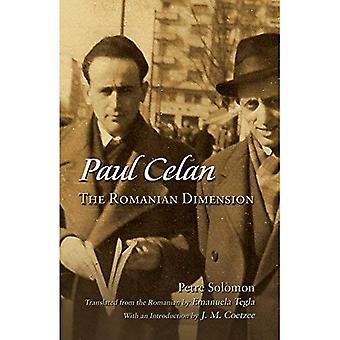 Paul Celan: Den rumænske Dimension (jødiske traditioner i litteratur, musik og kunst)
