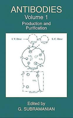 Antibodies  Volume 1 Production and Purification by Subramanian & G.
