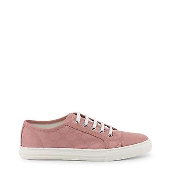 Gucci Women Pink Sneakers -- 4261602224