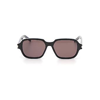Saint Laurent Black Acetate Sunglasses