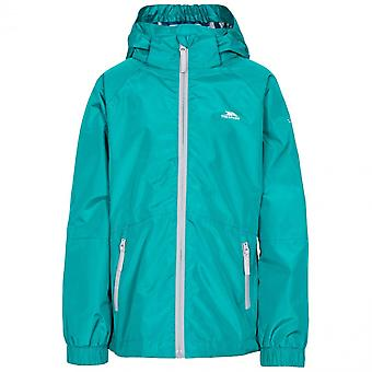 Trespass Girls Fenna TP50 Waterproof Zip Up Outdoor Jacket