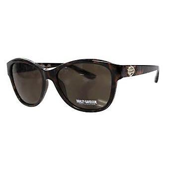 Harley Davidson Sunglasses Dark Brown Pattern Beach Sun Protect Driving HD5031S-52E