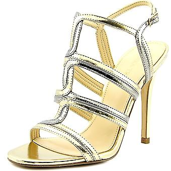 Ivanka Trump Womens Hazen Leather Open Toe Special Occasion Strappy Sandals