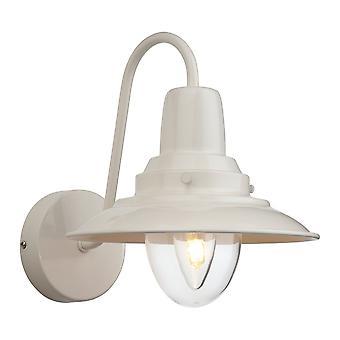 Firstlight-1 ljus inomhus vägg ljus grädde, klarglas-8686CR