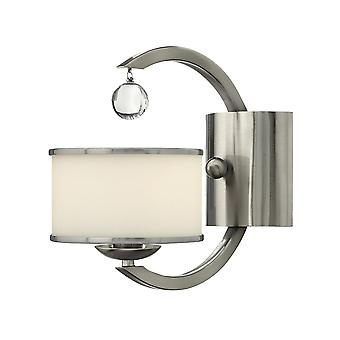 Stead-1 Light Indoor Wall Light Brushed Nickel-HK/MONACO1