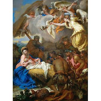 The adoracion of the,Giovanni Benedetto Castiglione,50x37cm