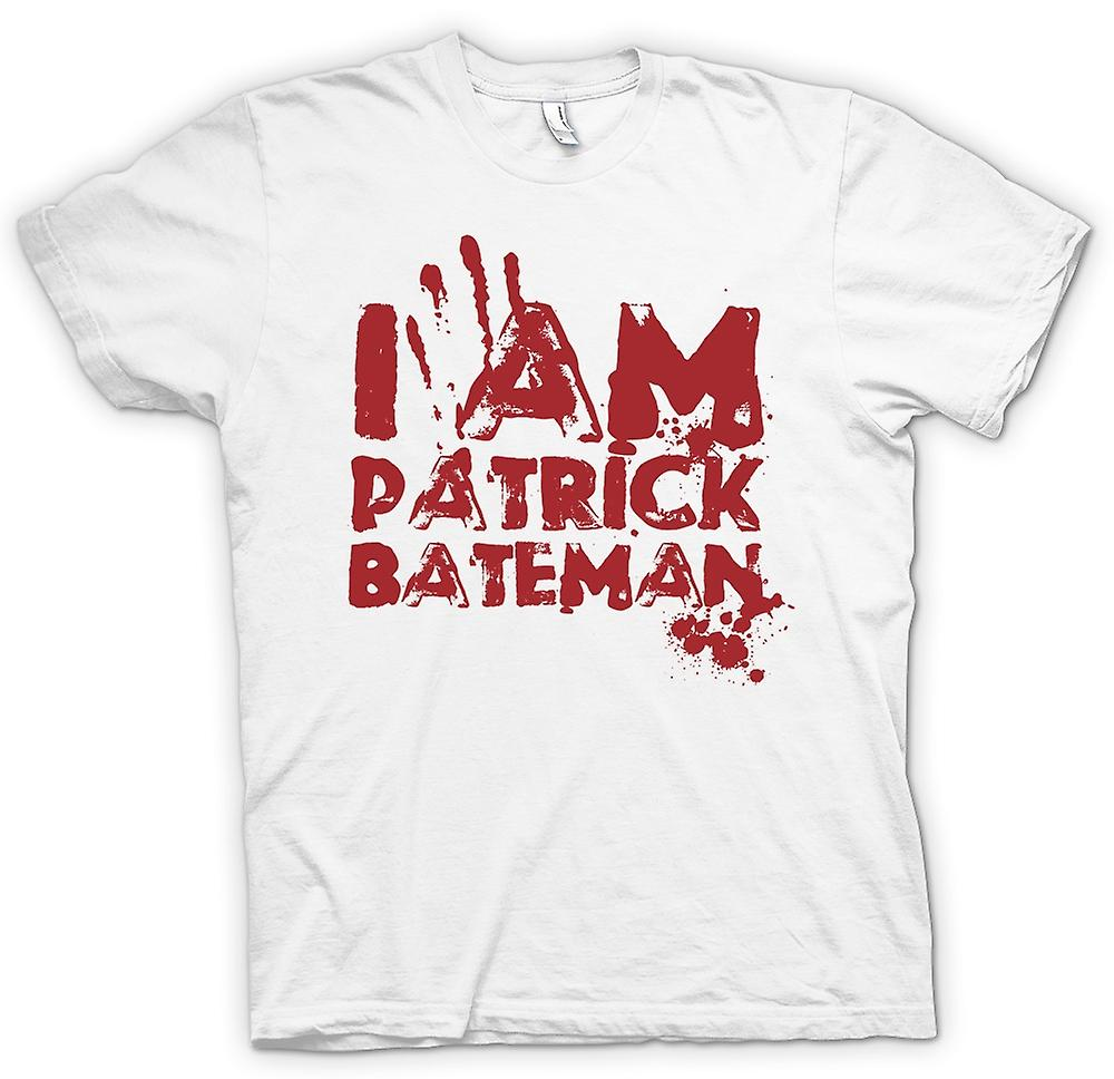 Mens T-shirt - I Am Patrick Bateman - Psycho Inspired